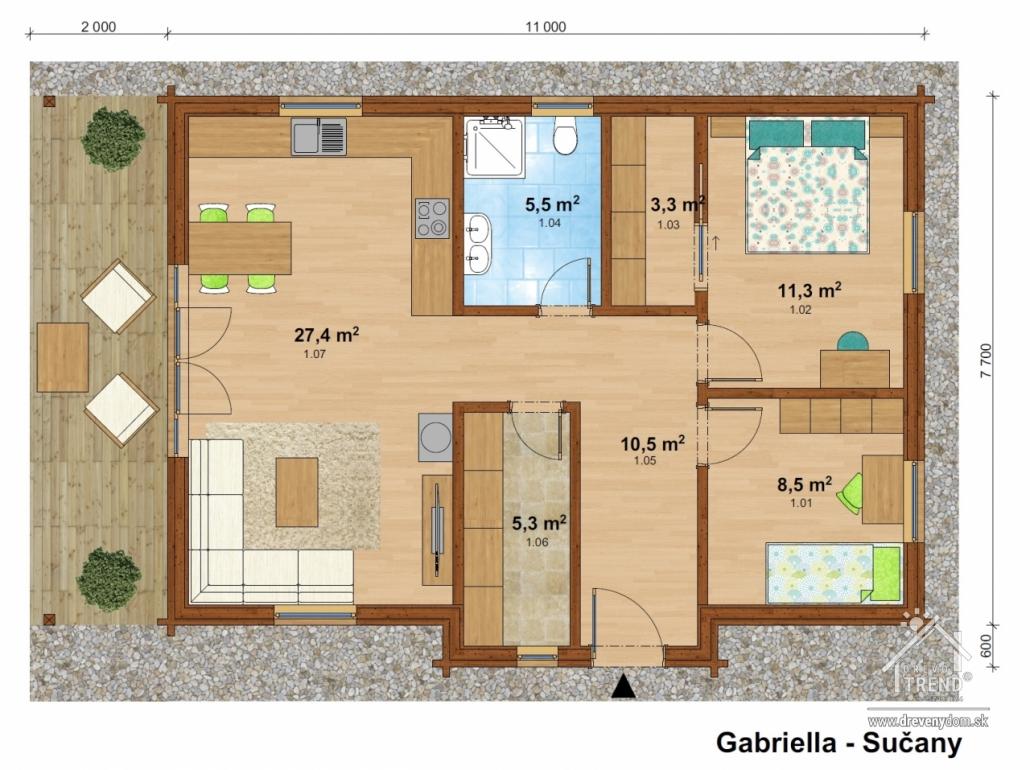 Drevotrend - Gabriela