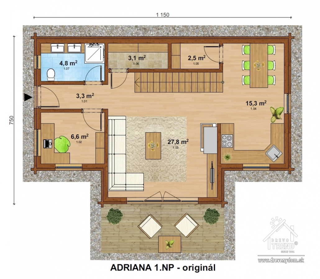 Drevotrend - Adriana
