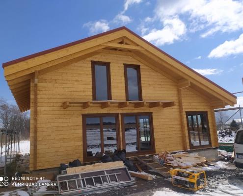 realizácia stavby v Mengusovciach