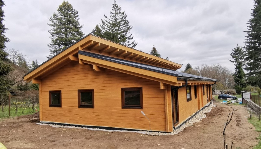 Aktuálne realizujeme zväčšenú stavbu Sabrina v Modre.