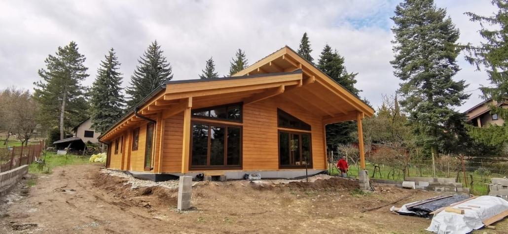 Aktuálne realizujeme zväčšenú stavbu Sabrina v Modre